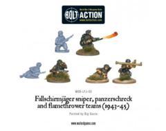 German - Fallschirmjager Flamethrower, Sniper & Panzerschreck (6)