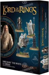 (30-49)   Middle Earth Strategy Battle Game: Saruman The White & Grima