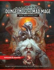 (WOC6052) Dungeons and Dragons RPG: Waterdeep - Dungeon of the Mad Mage Map Pack