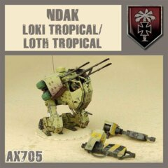 AX705  NDAK LOKI TROPICAL / HOTH TROPICAL