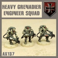 AX137 HEAVY GRENADIER ENIGEER SQUAD