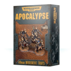 WARHAMMER 40,000 Apocalypse 40mm Movement Trays