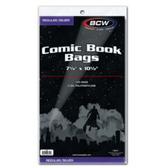 Silver/Regular Comic Bags