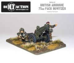 British - Paratrooper 75mm Pak Howitzer & Crew