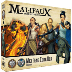 WYR23714 Malifaux 3E: Ten Thunders/Arcanists - Mei Feng Core Box