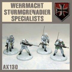 AX130  WEHRMACHT STURMGRERADIAR SPECIALISTS