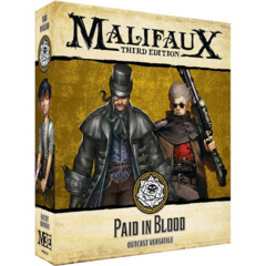 WYR23524 Malifaux 3E: Outcasts - Paid In Blood