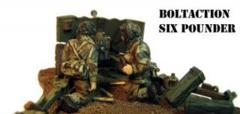 British - Paratrooper 6 Pounder ATG & Crew