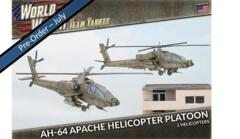 TUBX21 AH-64 Apache Helicopter Platoon (Plastic)