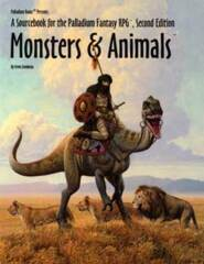 PAL454 Monsters and Animals (Palladium Fantasy RPG)