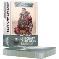 (500-22) Aeronautica Imperialis: Aircraft and Aces – Astra Militarum and Imperial Navy Cards
