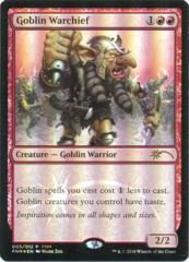 Goblin Warchief - FNM Promo