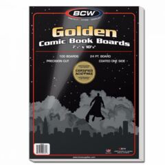 Golden Comic Backing Boards