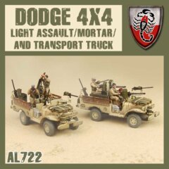 AL722  DESERT SCORPION LIGHT COMMAND  MORTOER/TRANSPORT