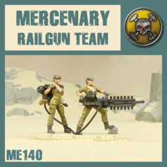 ME140 MERCENARY RAILGUN SQUAD