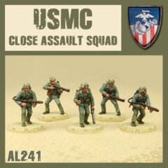 AL241 USMC  CLOSE ASSULT  SQUAD