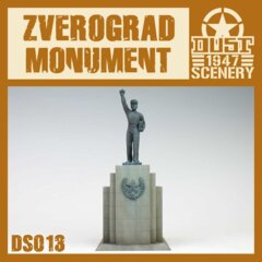 DS013   ZVEROGRAD  MONUMENT