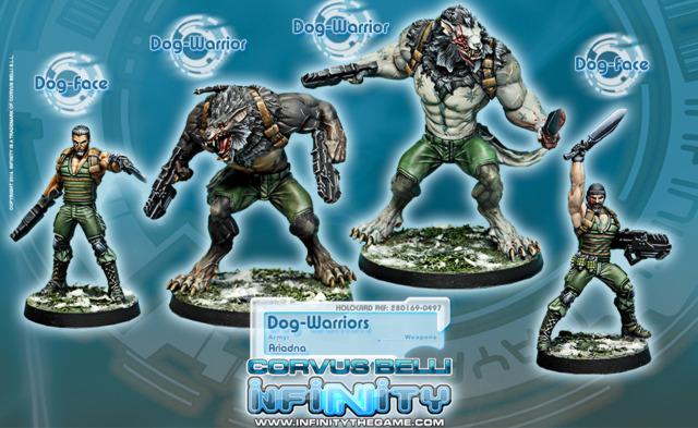 (280169) Dog-Warriors (4) BOX