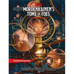 (WOCC4594) Dungeons & Dragons 5th Edition RPG: Mordenkainen's Tome of Foes (Hardcover)