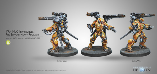 (280374) Yan Huo Invincibles - 2 Missile Launchers (1)