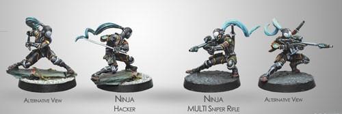 (280395) Infinity - Yu Jing: Ninjas (Multi Sniper / Hacker)