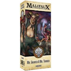 WYR23735 Malifaux 3E: Ten Thunders - Alt Graves & Tannen