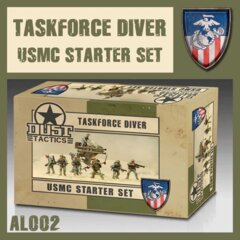AL002 TASKFORCE DIVER USMC STARTER SET