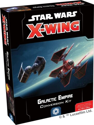 SWZ07 X-Wing Second Edition: Galactic Empire Conversion