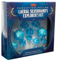 (WOC7868) Dungeons and Dragons RPG: Forgotten Realms Laeral Silverhands Explorers Kit
