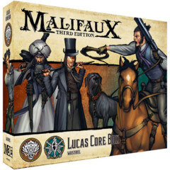 WYR23712 Malifaux 3E: Ten Thunders - Lucas Core Box