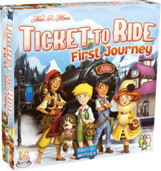 DOW7227 Ticket to Ride: First Journey - Europe