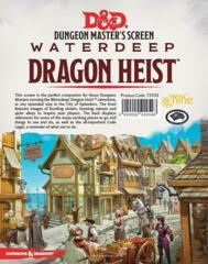 WOC73709 Dungeons and Dragons RPG: Waterdeep - Dragon Heist DM Screen