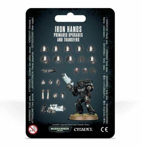 (48-57) Iron Hands Primaris Upgrades and Transfers