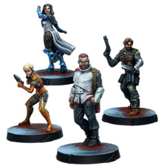 (280744) Agents of the Human Sphere. RPG Characters Set