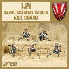 JP158   IJN  - NAVAL ACADEMY CADETS  KILL SQUAD