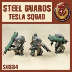 SU334 STEEL GUARD TESLA SQUAD