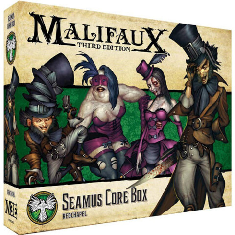 WYR23205 Malifaux 3E: Resurrectionists - Seamus Core Box