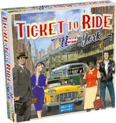 DOW7260 Ticket to Ride New York, Multicolour