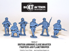 British: Airborne Close Quarter Fighters and Flamethrower
