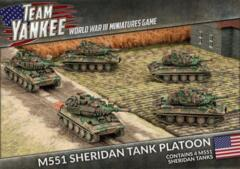 TUBX17 M551 Sheridan Tank Platoon