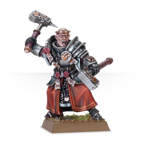 Empire Warrior Priest with Additional Hand Weapon