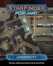 (PZO7316) Starfinder Flip-Mat: Undercity