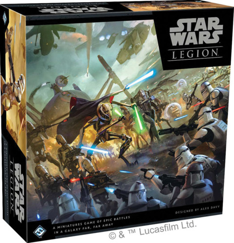 (SWL44)  Star Wars: Legion - Clone Wars Core Set