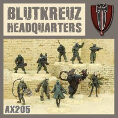 AX205 BLUTKREUZ  HEADQUARTERS