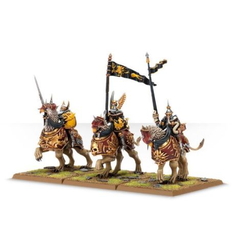 (86-21) Empire Freeguild Demigryph Knights