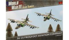 TSBX20 SU-25 Frogfoot Aviation Company (Plastic)