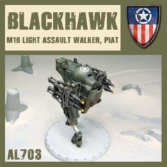 AL703  BLACK HAWK LIGHT WALKER