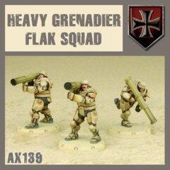 AX139  HEAVY GRENADIER FLAK SQUAD