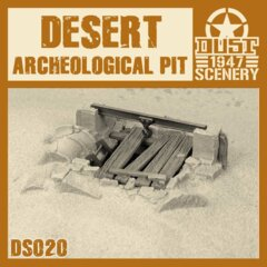 DS020  DESERT ARCHEOLOGICAL PIT