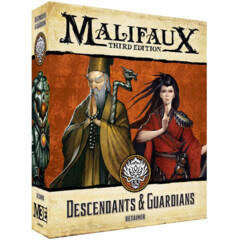 WYR23711 Malifaux 3E: Ten Thunders - Descendants & Guardians